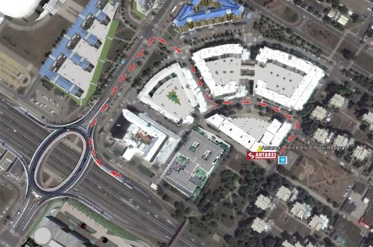 0 mapa beograd