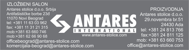 Kontakt informacije ANTARES
