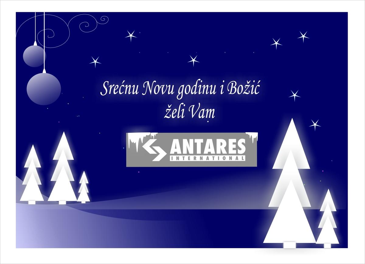 Srećnu Novu 2019. godinu i Božić želi Vam firma ANTARESSTOLICE