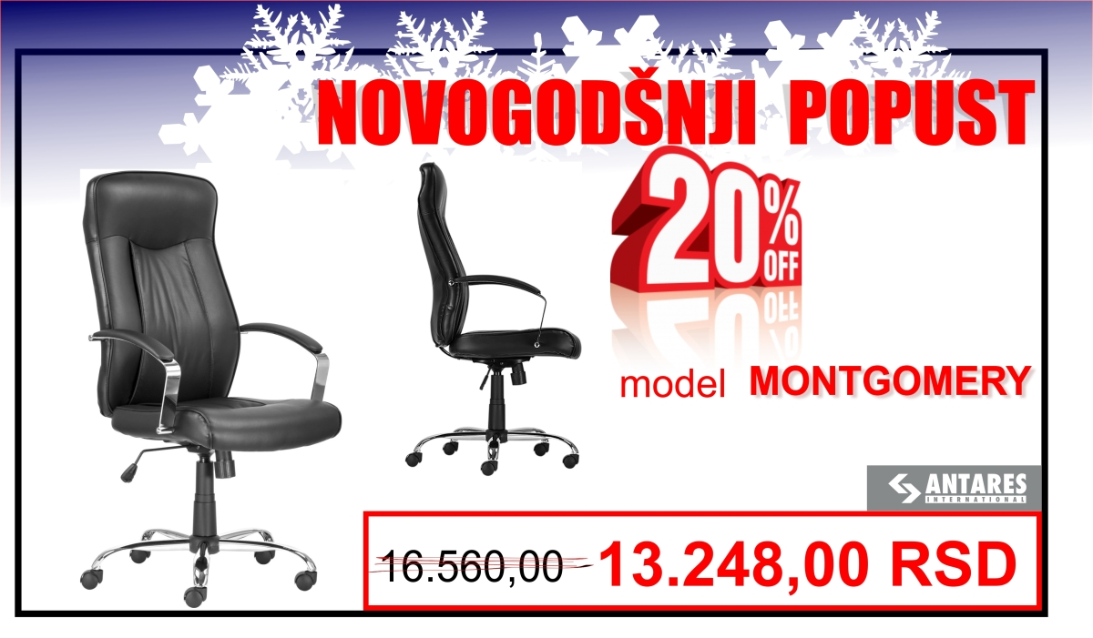 Novogodišnje sniženje: radna foteljaMONTGOMERY