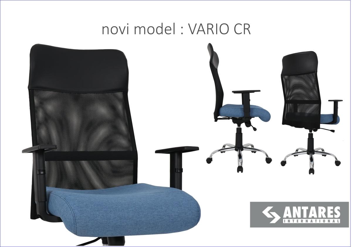 NOVO! Radna stolica VARIOCR