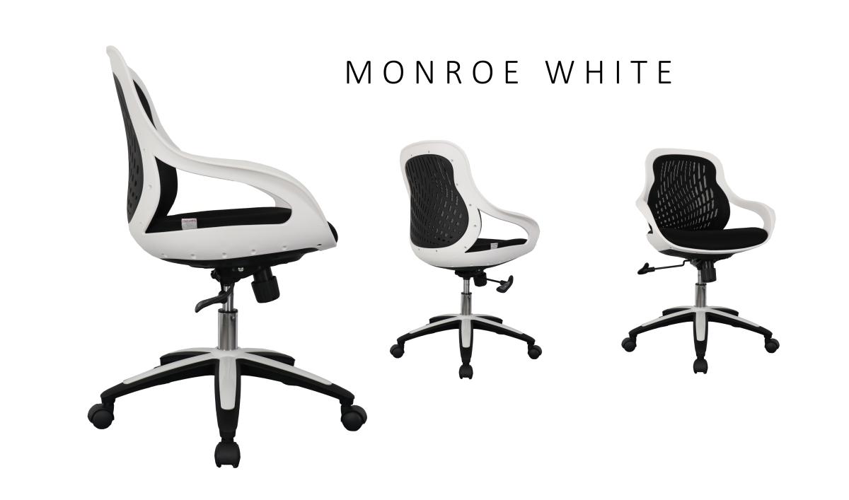 Radna stolica MonroeWhite