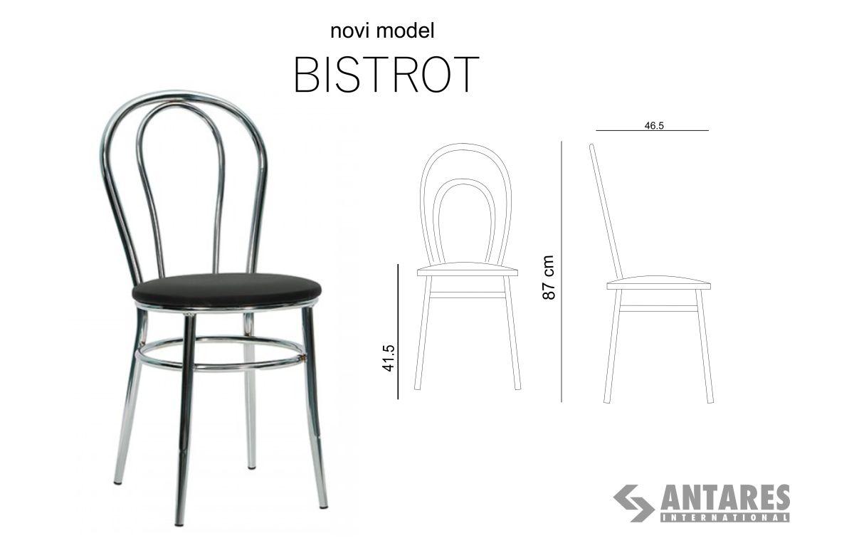 Bistrot  – višenamenski modelstolice