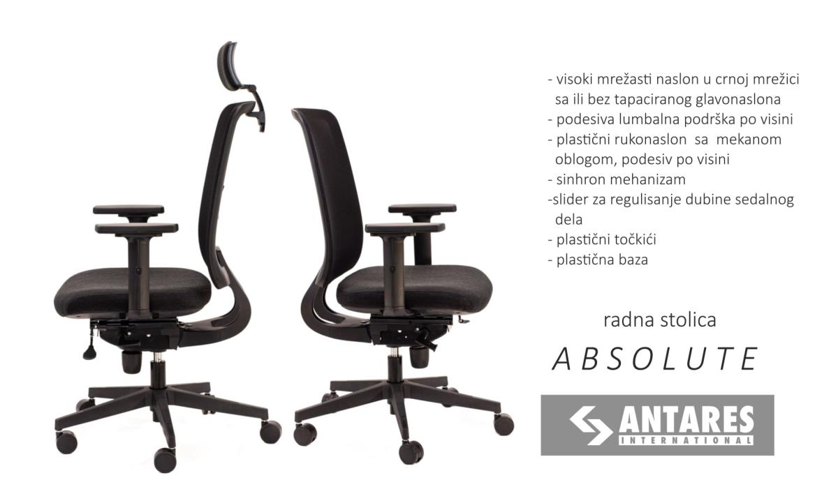 Radna stolica Absolute NetPDH