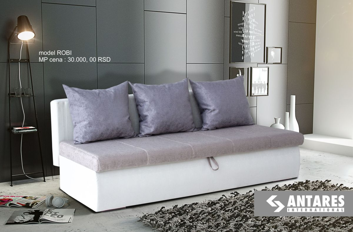 Kauč na razvlačenje – modelROBI